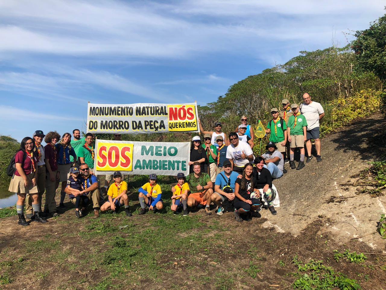 Morro da Peça Caminhada Ecológica Junho 2018