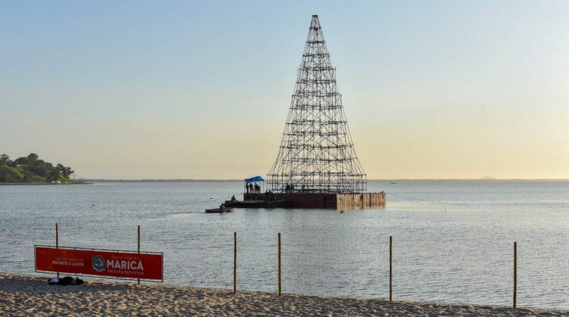 Túnel de Luz e Árvore de Natal em Maricá