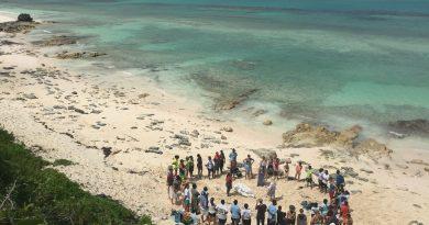 mutirões de limpeza das praias