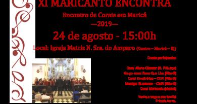 xi Maricanto encontra 2019
