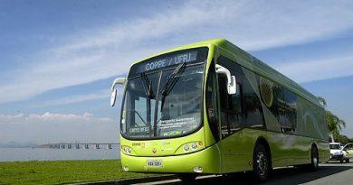 ônibus elétrico-hidrogênio