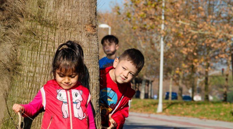 desenvolvimento sustentável, crianças brincando