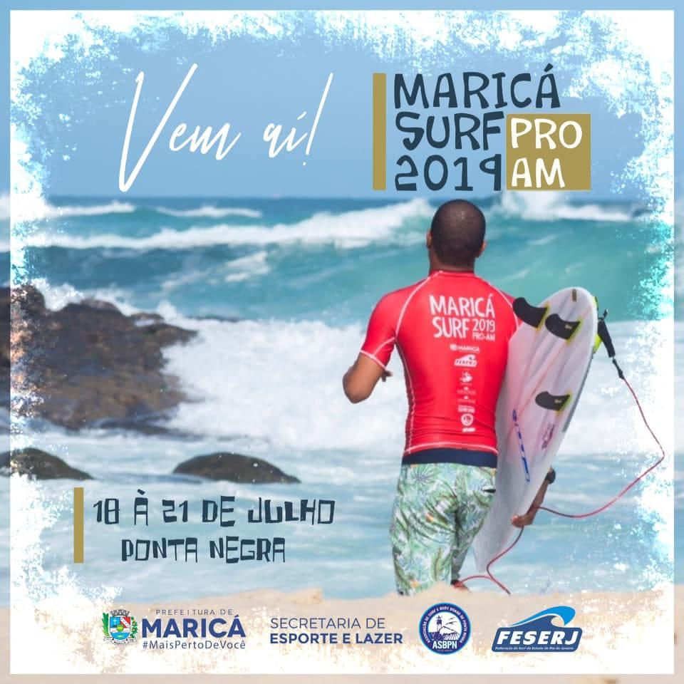 Maricá Surf Pro Am 2019 em Ponta Negra