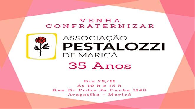 Aniversario Pestalozzi 35 nos convite