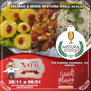 Mistura Grill no Natal Fest & Gourmet